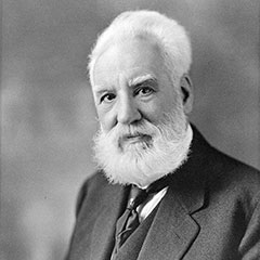Portrait of Alexander Graham Bell