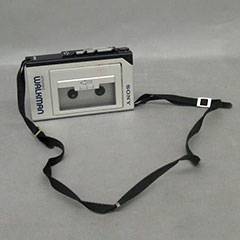 Sony cassette player (Walkman).